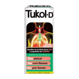 Tukol-D Adulto en Jarabe 125 mL