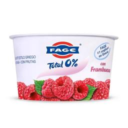 Yoghurt Fage Total 0% Estilo Griego con Frambuesa 150 g