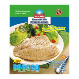 Filete de Pescado Blanco Nilo Pimienta Limón 500 g