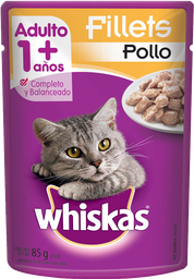 Alimento Para Gato Whiskas Fillets Pollo Adulto 85 g