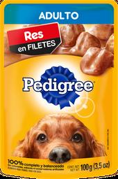 Alimento Para Perro Pedigree Res en Filetes Adulto 100 g