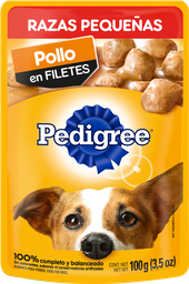 Alimento Para Perro Pedigree Pollo Adulto Razas Pequeñas 100 g