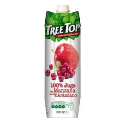 Jugo Treetop Manzana 1 L