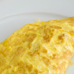 Omelete de manchego