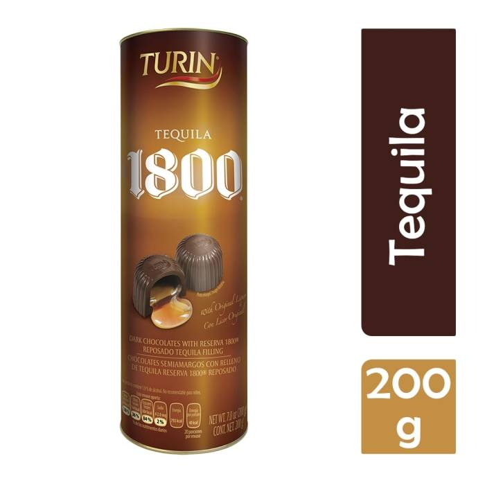 Turin Chocolate Con Tequila 1800 Reposado