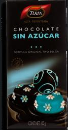 Chocolate Turin Alta Repostería Amargo Sin Azúcar 100 g
