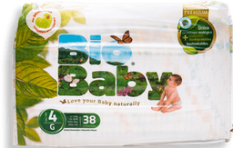 Pañales Bio Baby Talla 4 38 U