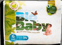Pañal Bio Baby Talla 6 Eco-Friendly 34 U
