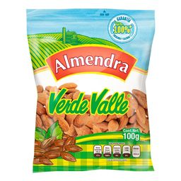 Almendra Verde Valle Natural Bolsa 100 g