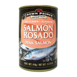 Salmón Rosado Crown Prince de Alaska 418 g