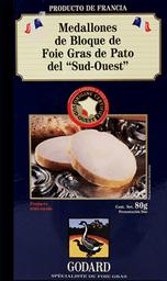 Bloc de Foie Godard Medallones 80 g