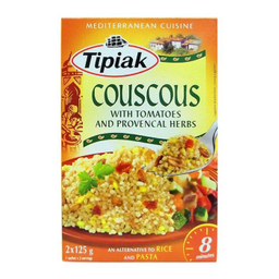 Cous Cous Tipiak Jitomate y Hierbas Precocido 250 g