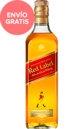 Whisky Johnnie Walker Red Label Botella 750 mL