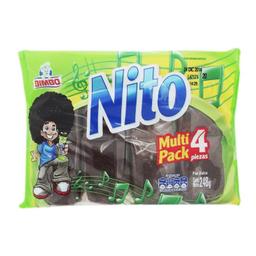Pan Dulce Nito Con Chocolate 62 g x 4
