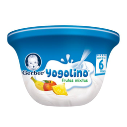 Yogurth Gerber Etapa 2 Yogolino Frutas Mixtas 115 g