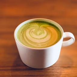 Matcha Taro Latte