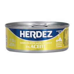 Lomo de Atún Herdez Aleta Amarilla en Aceite 130 g
