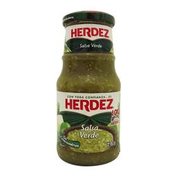Salsa Herdez Verde Frasco 453 g