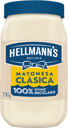 Mayonesa Hellmanns Clásica 790 g