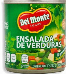Ensalada de Verduras Del Monte 215 g
