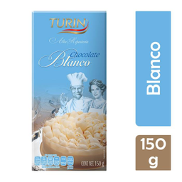 Chocolate Turin Blanco 150 g