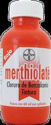 Merthiolatae Bayer Rojo 60 mL