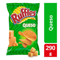 Papas Ruffles Queso 290 G