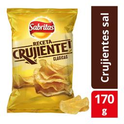 Papas Sabritas Receta Crujiente Clásicas 170 g