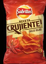 Botana Sabritas Receta Crujiente Chiles Rojos 170 g
