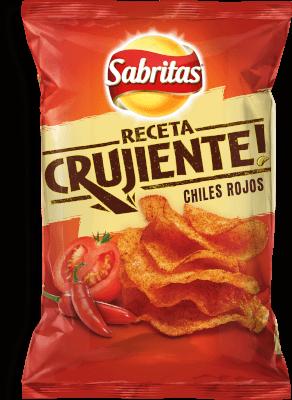 Sabritas Receta Crujiente Chiles Rojos