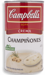 Campbells Crema Champiñones
