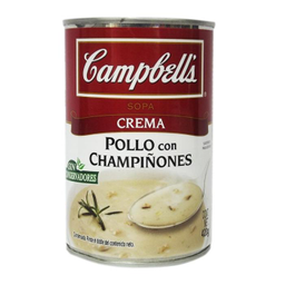 Campbells Crema de Pollo Con Champiñones
