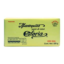 Mantequilla Gloria Sin Sal Barra
