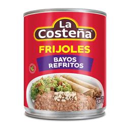 Frijoles La Costeña Bayos Refritos 580 g