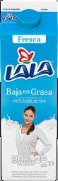 Leche Lala Baja en Grasa Pasteurizada 1 L