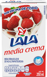 Media Crema Lala Ultra Pasteurizada 250 mL