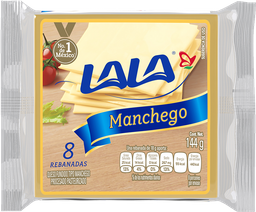 Queso Manchego Lala Rebanadas 144 g