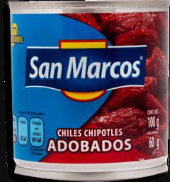 Chipotles San Marcos Adobados 100 g