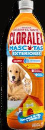 Limpiador Desinfectante  Cloralex  Mascotas Con Cloro 950 mL