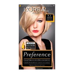 Tinte Preference 9.1 LOréal Paris