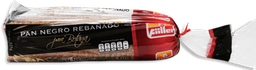 Pan de Caja Fiiller Negro Rebanado Para Botana 325 g
