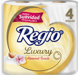 Papel Higiénico Regio Luxury Almond Touch 4 U
