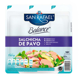 Salchicha de Pavo San Rafael Balance 750 g