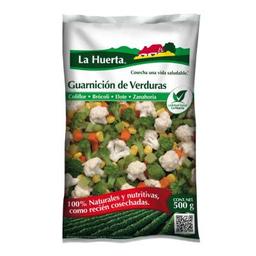 Guarnición De Verduras La Huerta Congeladas 500 g