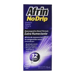 Afrin No Drip Fórmula Humectante 15 mL (.5 mg)