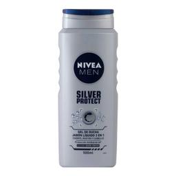 Nivea Men Jabón Líquido Silver Protect