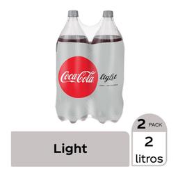 Refresco Coca-Cola Light 2 L x 2
