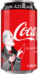 Refresco Coca-Cola Sin Azúcar 355 mL