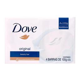Jabón Dove Original 100 g x 4 U