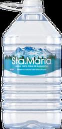 Agua Sta. María Natural Natural 4 L